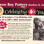 Ellison Bay pottery