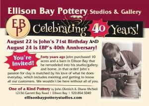 Ellison Bay pottery
